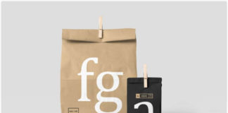 Free Photorealistic Customizable Paperbag Mockup
