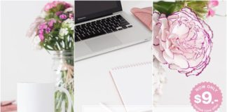 Clean Design Spring Mockups Styled Stock Bundle