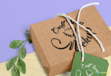 Free Brown Craft Soap Box Mockup