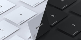 Closeup iPad Isometric Screen Mockup