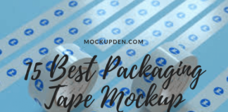 Packaging Tape Mockup