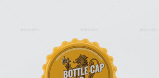 Bottle Cap Mockup