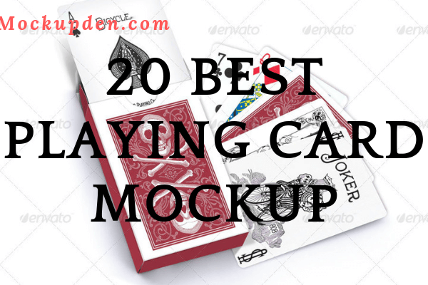 Playing Card Mockup