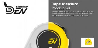 Measuring Tape Mockup