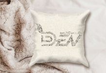 Pillow Mockup template