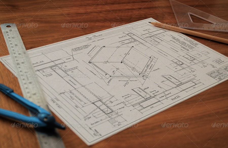 Technical Drawing and Pencil