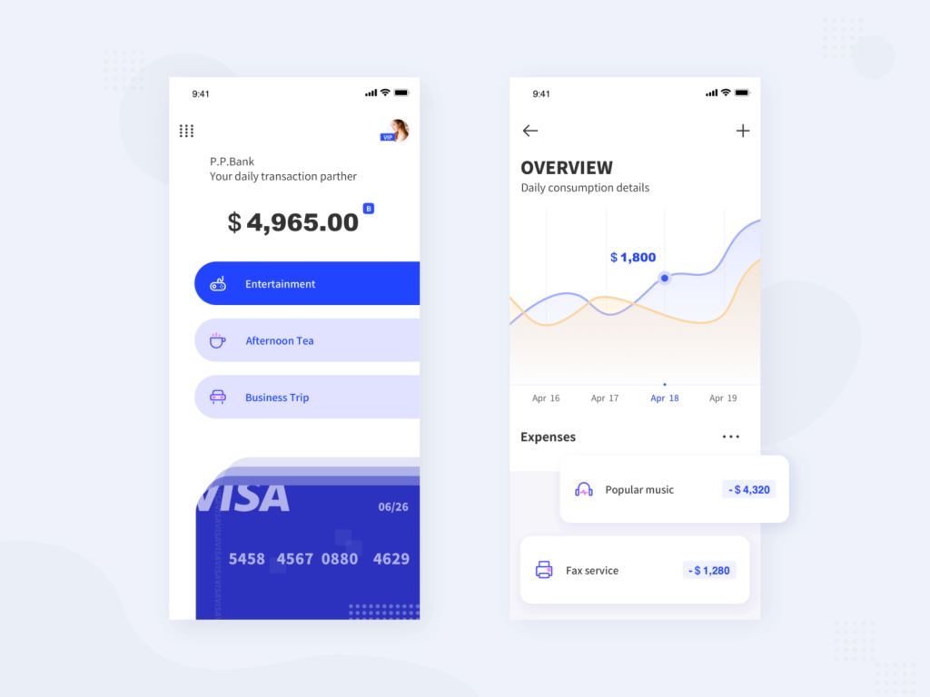 Mobile App-Bank