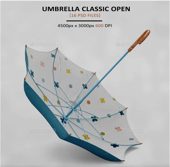 Umbrella Mockup | 50+ Free Umbrella PSD, Vector, AI Templates Download 5