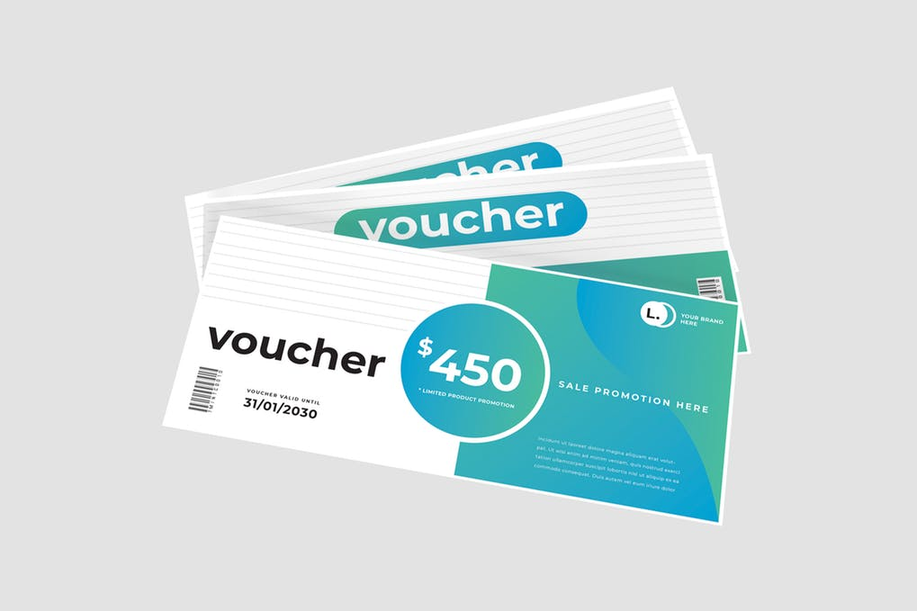 Sale Promotion Voucher Template