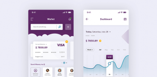 Free Smart Dashboard And Wallet IOS App Scene