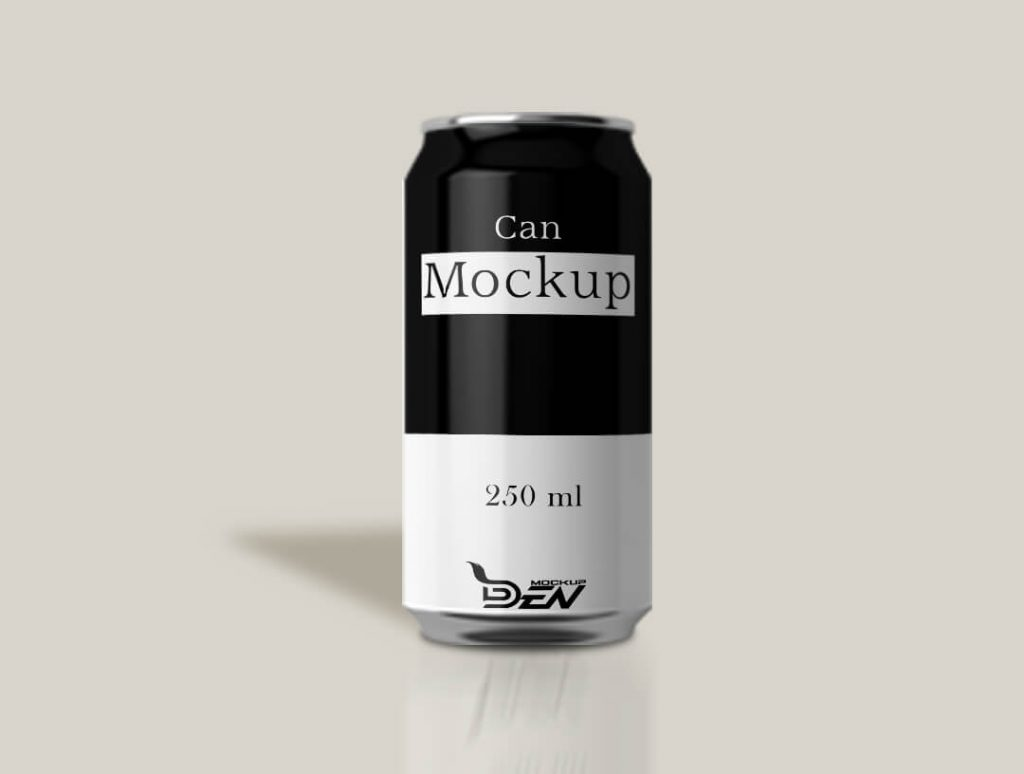 55+ Diversified list of Free Can Mockup in PSD and Vector Template 4