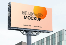 Digital Billboard Mockup