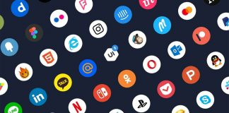 Free Social Media App Icons Illustration