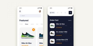 Free Shoe E-Commerce Site Mobile App Scene Ui/Ux