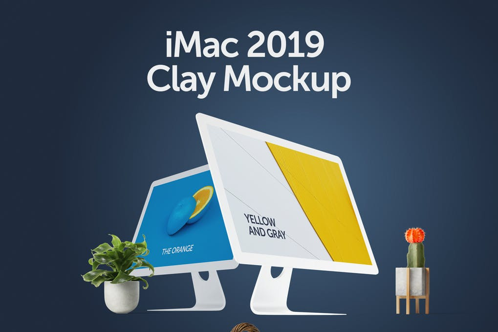 iMac Mockup | 25+ Best iMac Presentation Template in PSD & Vector 12