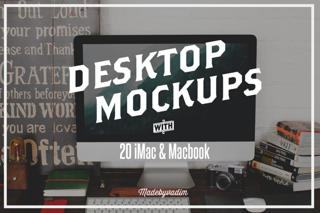 iMac Mockup | 25+ Best iMac Presentation Template in PSD & Vector 6