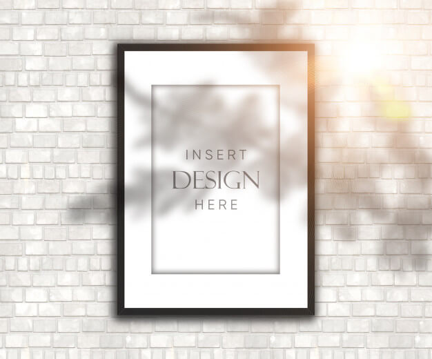 25+ Artistic Free Wall Frame Mockup for Beautiful Home Decoration Presentation 5