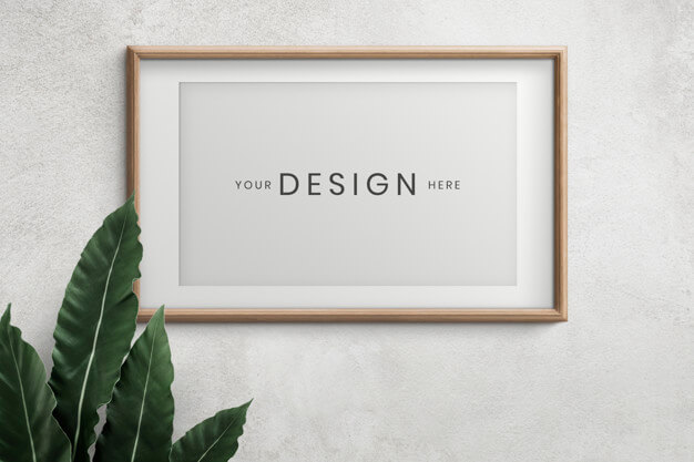 25+ Artistic Free Wall Frame Mockup for Beautiful Home Decoration Presentation 9