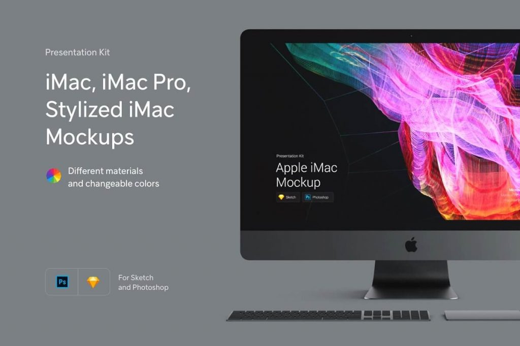 iMac Mockup | 25+ Best iMac Presentation Template in PSD & Vector 5