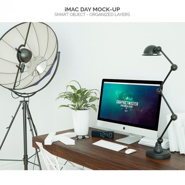 iMac Mockup | 25+ Best iMac Presentation Template in PSD & Vector 8