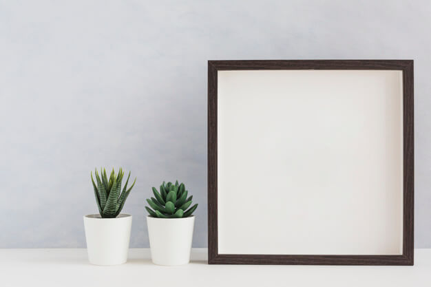 25+ Artistic Free Wall Frame Mockup for Beautiful Home Decoration Presentation 10
