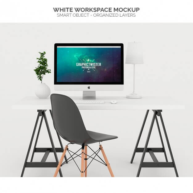 iMac Mockup | 25+ Best iMac Presentation Template in PSD & Vector 3
