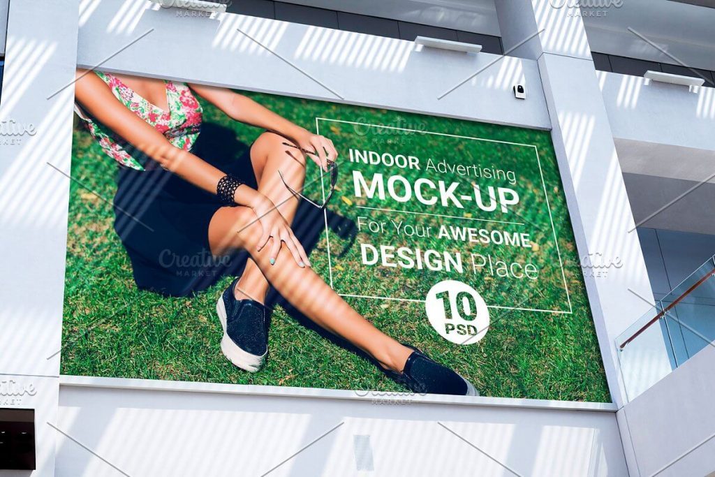 Citylight Mockup Template | 27+ Free Creative Design for Advertisement 2020 Collection 9