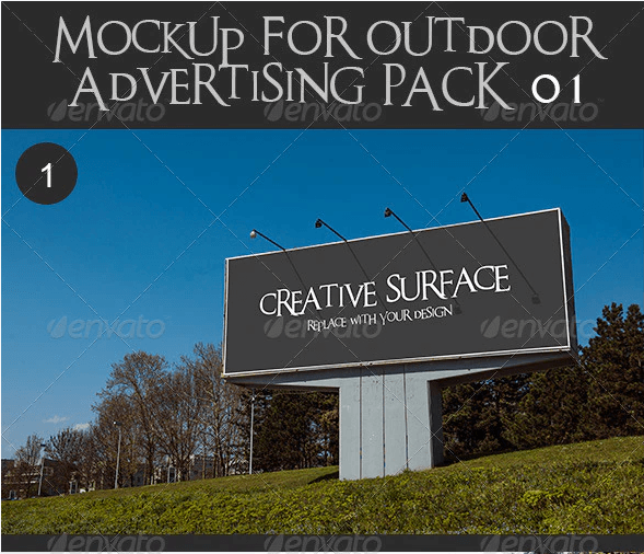Citylight Mockup Template | 27+ Free Creative Design for Advertisement 2020 Collection 6