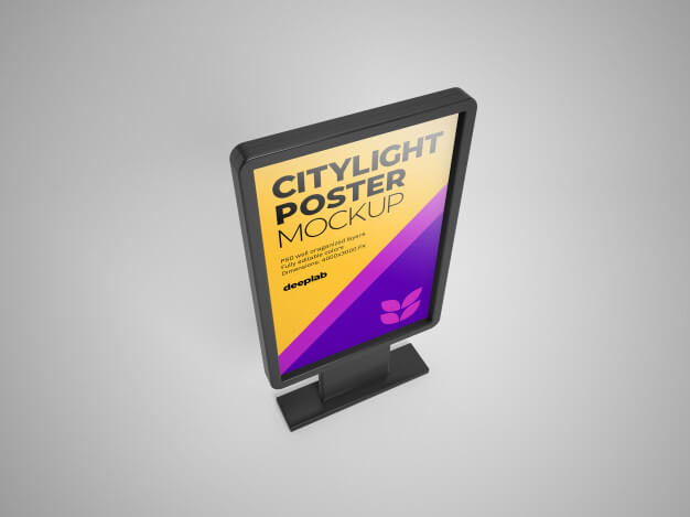 Citylight Mockup Template | 27+ Free Creative Design for Advertisement 2020 Collection 4