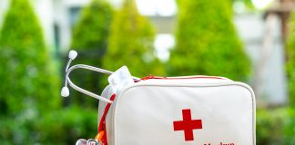 Free First Aid Bag Mockup PSD Template