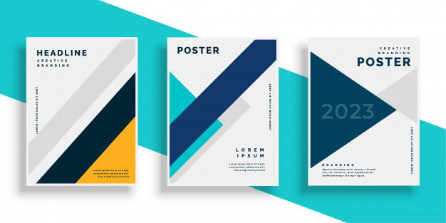 Minimalist Poster Mockup | 32+ Creative Design Trends of 2020 4