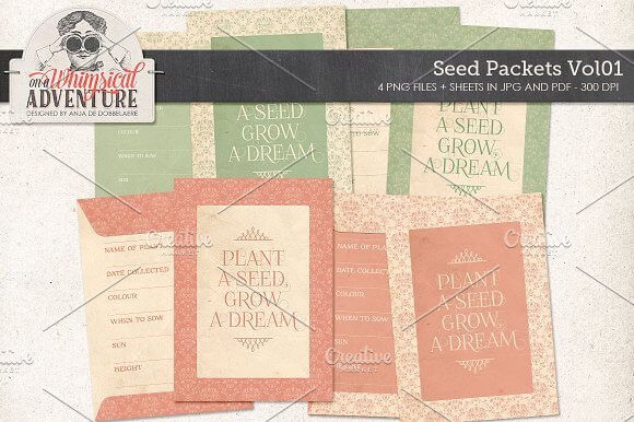 Grow A Dream Seed Packets