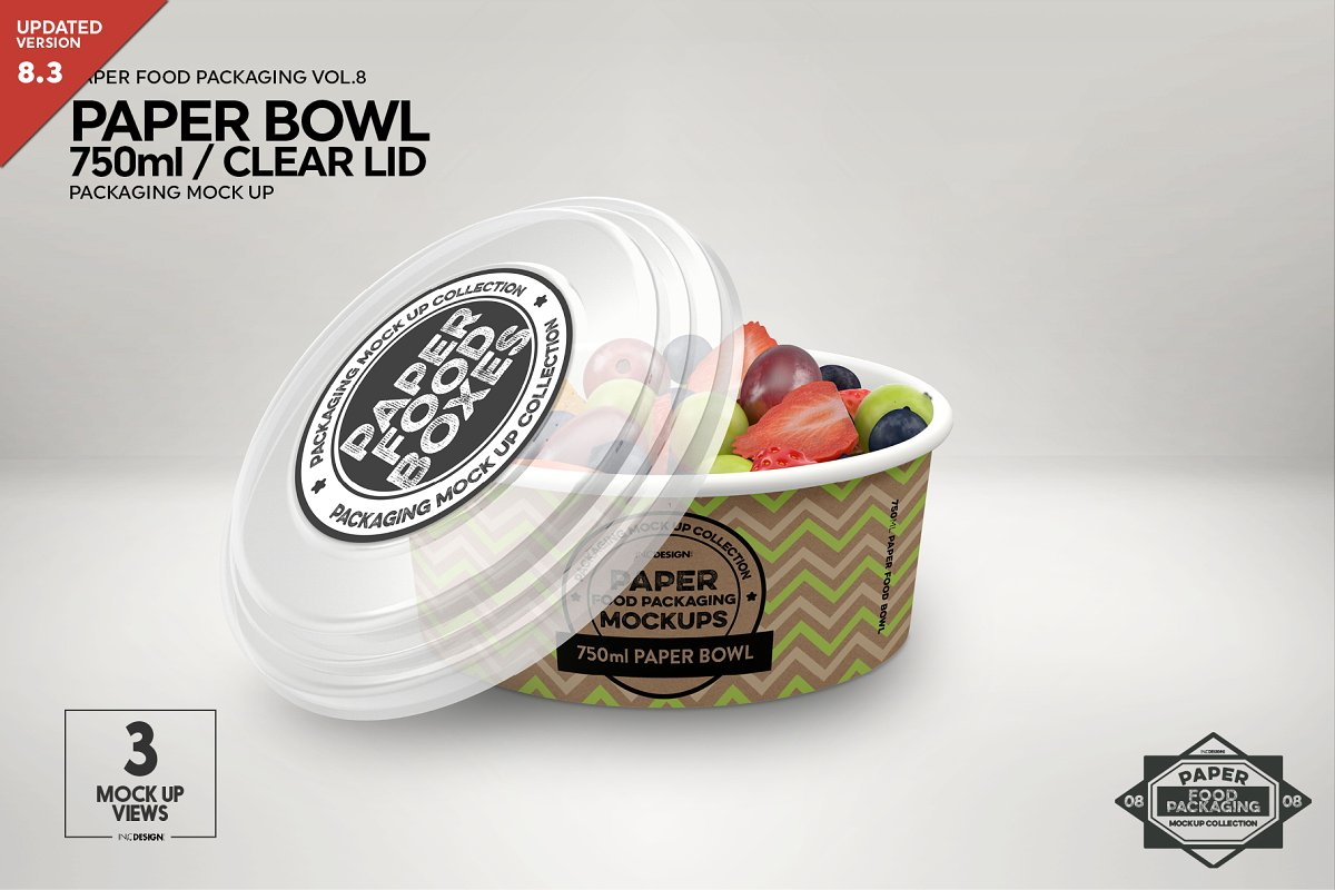 20+ Creative and Free Bowl Mockup PSD editable Templates for Designers 5