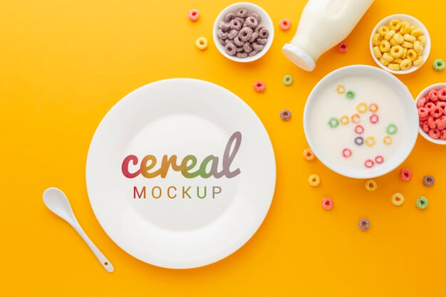 20+ Creative and Free Bowl Mockup PSD editable Templates for Designers 7