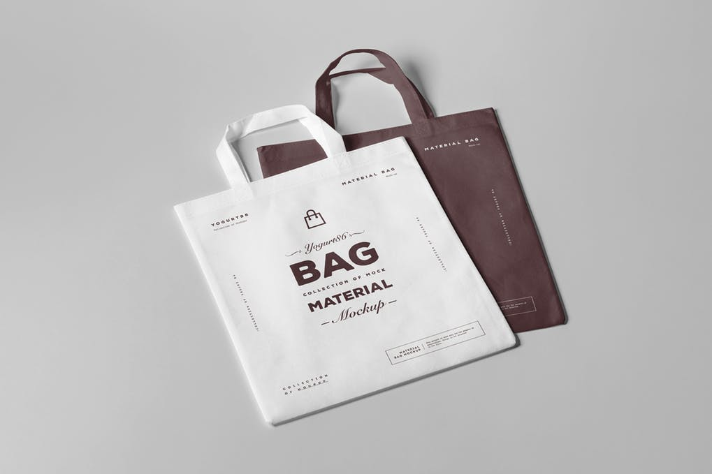 Best Quality Material Tote Bag PSD