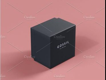 Branded Watch And Ring Box Mockup