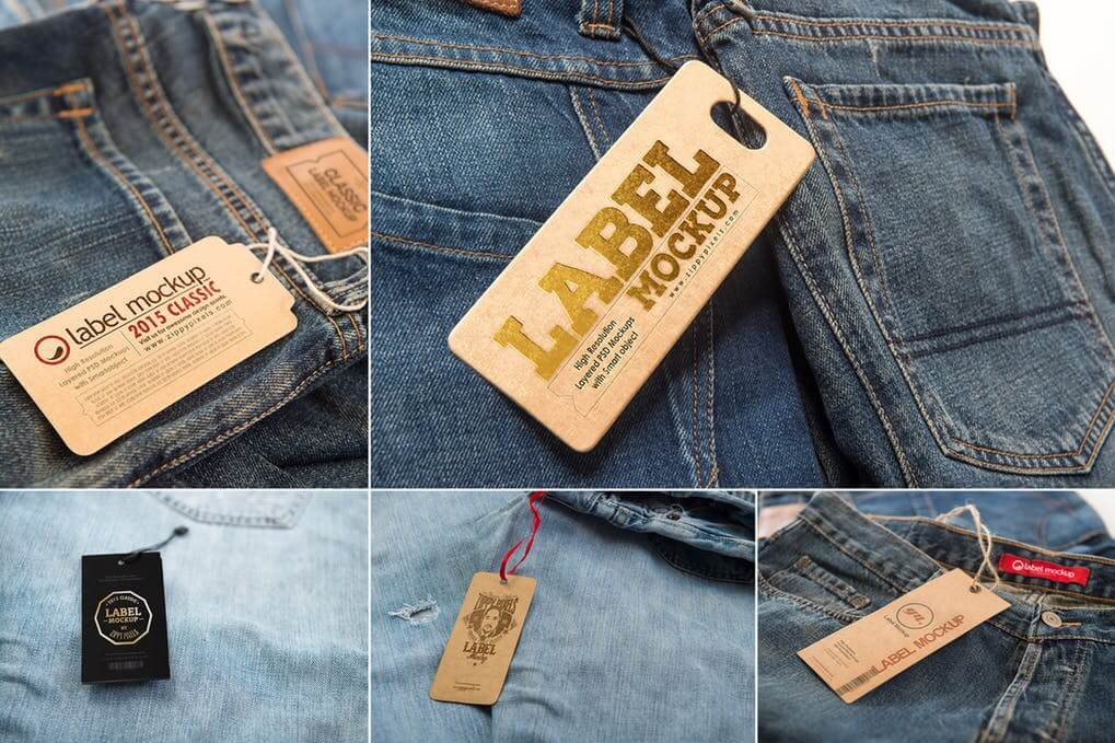 Classic Lable And Hang Tag Template