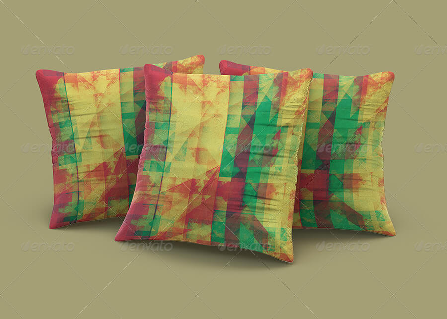 Colorful Cushion PSD Design