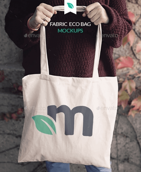 #8. ECO Fabric Tote Bag PSD