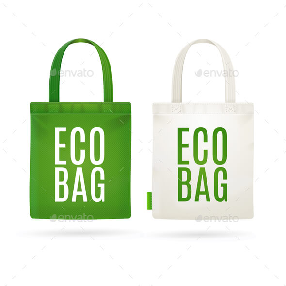 Eco Friendly Tote Bag Mockup