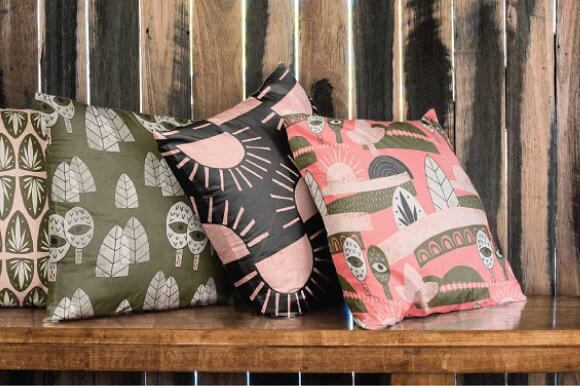 Editable 4 Different Cushion Designs