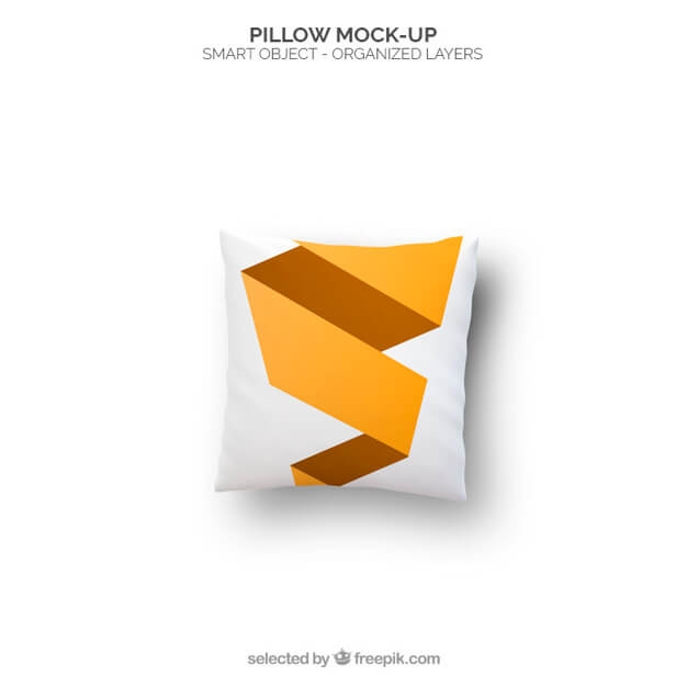 Geometric Cushion Mockup Design