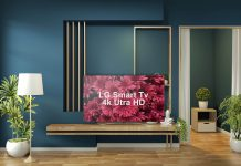 Free LG Smart Tv Mockup PSD Template
