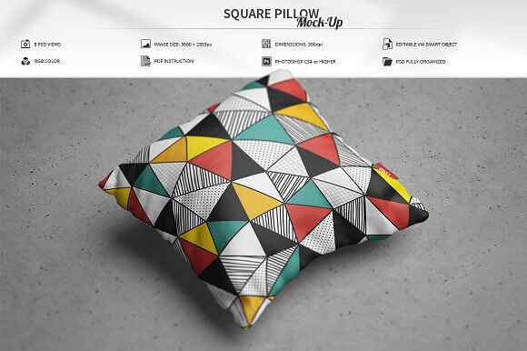 Multilayered Cushion Design PSD