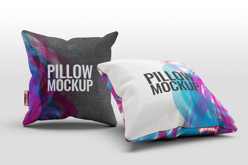 Photorealistic Cushion PSD Mockup