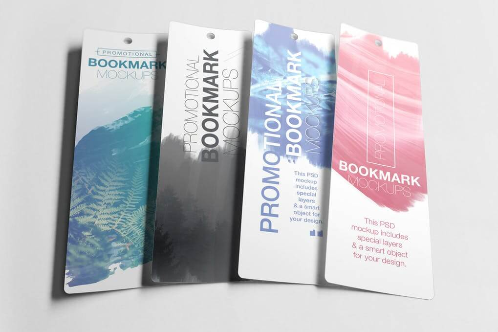 Promotional Badge Bookmark PSD