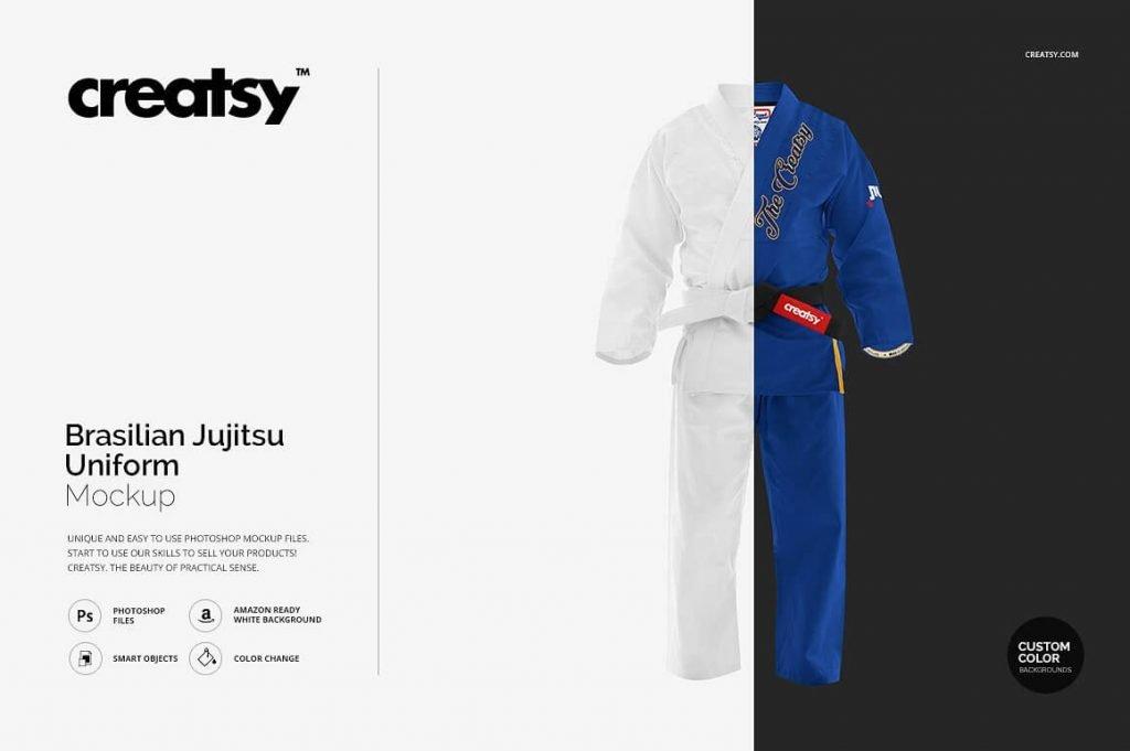 Creatsy jujitsu brazilian uniform PSD