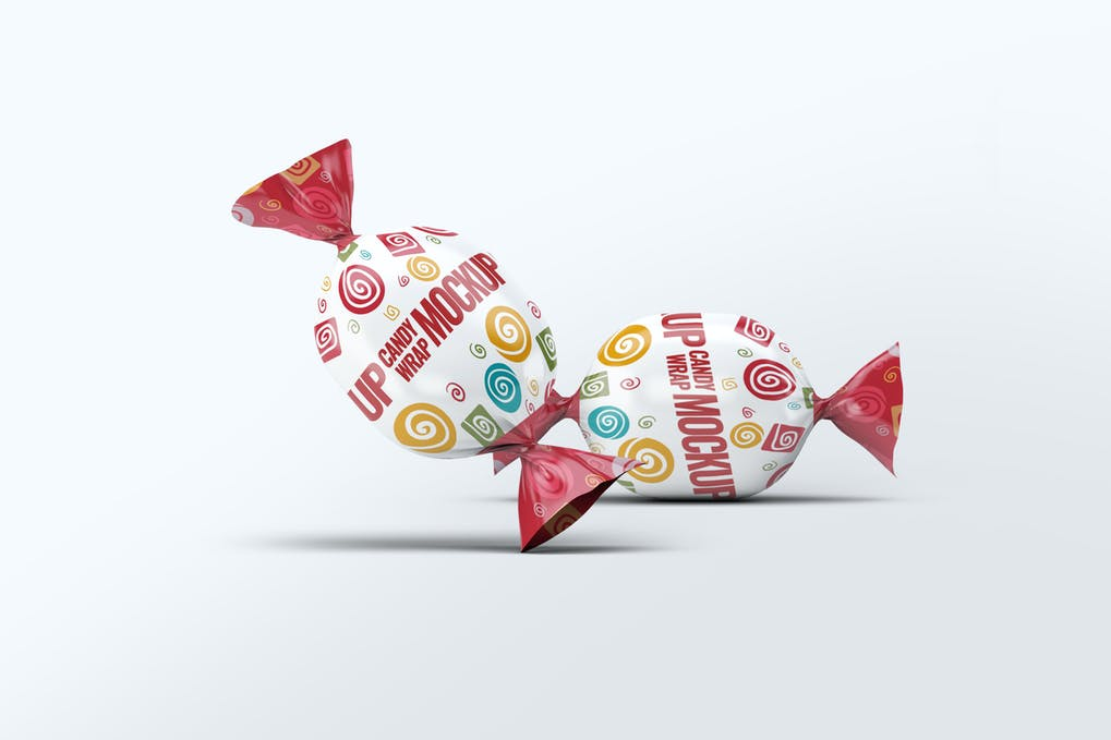 Candy Wrap Mock-Up