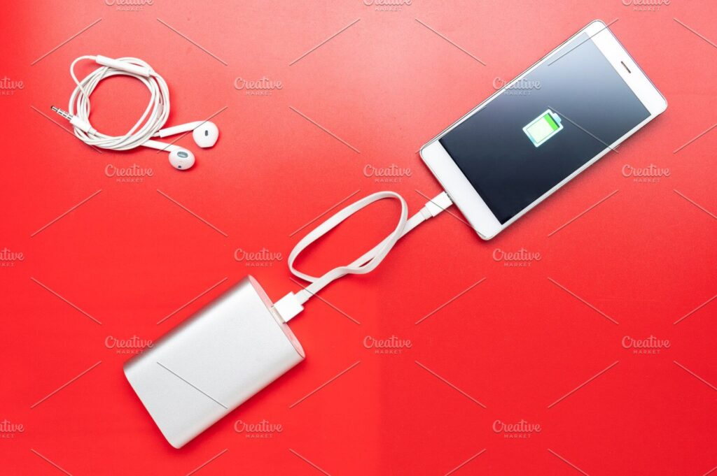 Charge your mobile device.