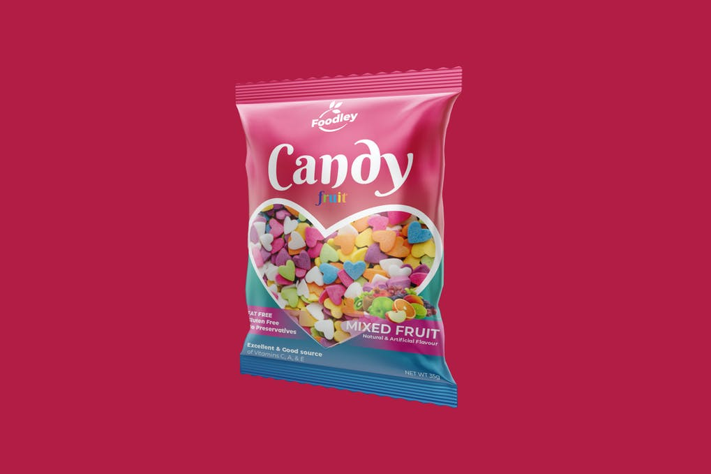 Colorful Candy Plastic Packaging